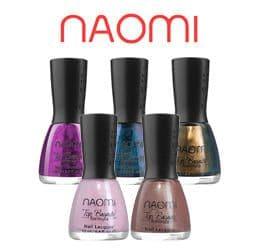 Декоративные лаки Naomi