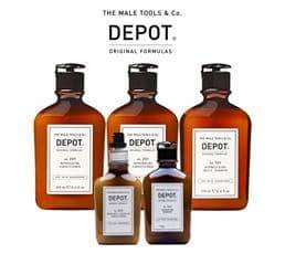 Шампуни для мужчин Depot
