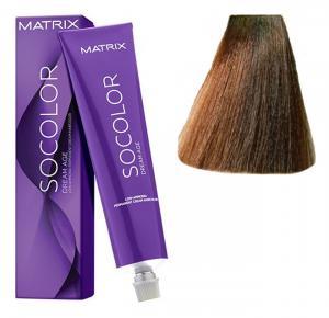 Крем-краска для волос Matrix Socolor Beauty №6BC Коричнево-медный темный блондин 90 мл - 00-00000152