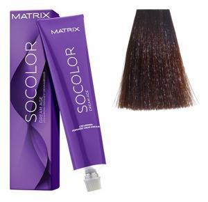 Крем-краска для волос Matrix Socolor Beauty №5M Светлый шатен мокко 90 мл - 00-00000164