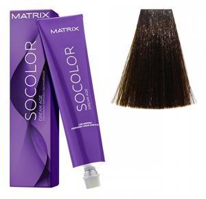 Крем-краска для волос Matrix Socolor Beauty №4NW Натуральный теплый шатен 90 мл - 00-00000172