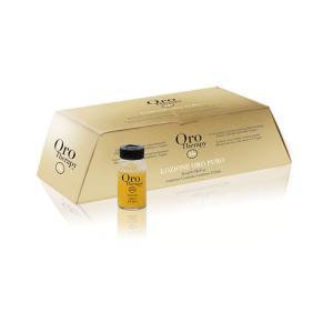 Відновлюючий лосьйон для волосся з кератином Fanola Oro Therapy 10 мл*12 шт  - 00-00000197