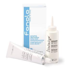 Крем для хімічного вирівнювання волосся Fanola 100 мл. + 120 мл. - 00-00000222