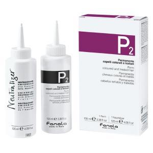 Набір для хімічної завивки фарбованого волосся Fanola 100 мл+120 мл - 00-00000232