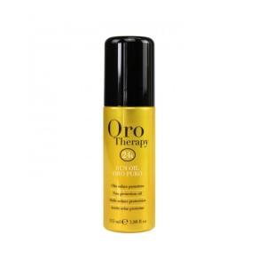Масло для защиты волос от солнца Fanola Oro Therapy 115 мл - 00-00000246