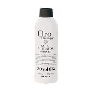 Активатор з мікрочастинками золота Fanola  6% (20 Vol.) Oro Therapy 150 мл - 00-00000264