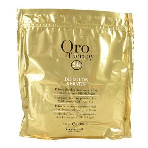 Осветляющий порошок для волос с кератином Fanola Oro Therapy 500 г - 00-00000269