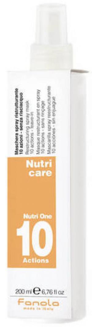 10-функційний спрей для сухого волосся Fanola Nutri Care 200 мл - 00-00000278