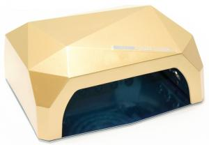 Професійна LED-лампа з сенсором для полімеризації гелю, золота 36W - 00-00000419