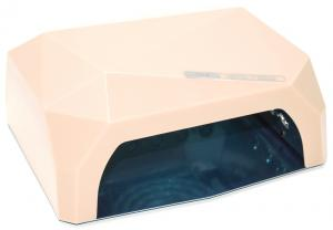 Професійна LED-лампа з сенсором для полімеризації гелю, бежева 36W - 00-00000420