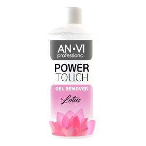 Засіб для зняття гель-лаку ANVI Professional  Power Touch Lotus 500 мл - 00-00000421