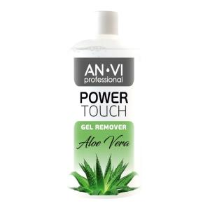 Засіб для зняття гель-лаку ANVI Professional  Power Touch Aloe Vera  500 мл - 00-00000423