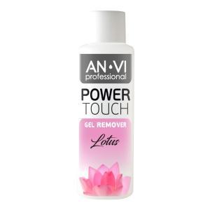 Засіб для зняття гель-лаку ANVI Professional  Power Touch Lotus 100 мл - 00-00000424