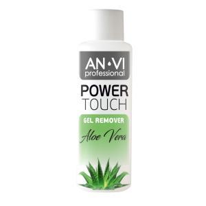 Засіб для зняття гель-лаку ANVI Professional  Power Touch Aloe Vera 100 мл - 00-00000426