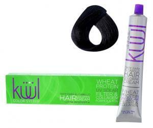 Крем-фарба для волосся Kuul Color System №1А 90 мл - 00-00000430