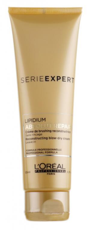 Термозахисний крем для відновлення пошкодженого волосся L'Oreal Professionnel Absolut Repair Protein 125 мл - 00-00000463