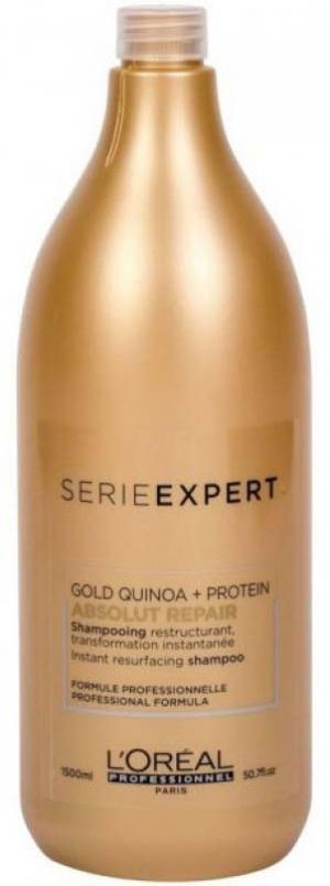 Восстанавливающий шампунь для повреждённых волос L'Oreal Professionnel Absolut Repair Protein 1500 мл - 00-00000466