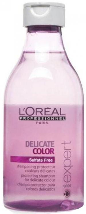 Шампунь для окрашенных волос без сульфатов L'Oreal Professionnel Vitamino Color Delicate 300 мл - 00-00000484