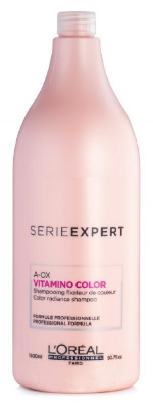 Шампунь для окрашенных волос L'Oreal Professionnel Vitamino Color 1500 мл - 00-00000489