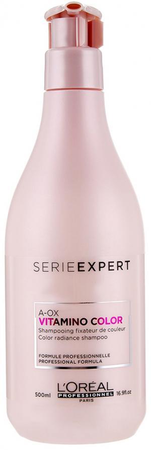 Шампунь для окрашенных волос L'Oreal Professionnel Vitamino Color 500 мл - 00-00000490