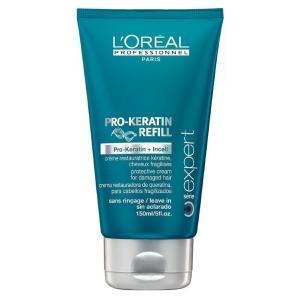 Крем-захист для пошкодженого, ламкого волосся L'Oreal Professionnel Pro-Keratin Refill 150 мл - 00-00000512