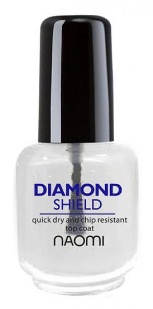 Закріплювач швидковисихаючий Naomi Diamond Shield Mini 5 мл - 00-00000564