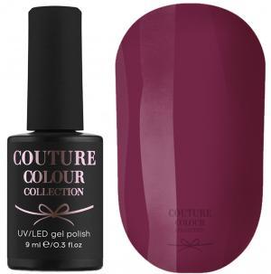 Гель-лак для нігтів Couture Colour №024 Щільний бургунд (емаль) 9 мл - 00-00000593