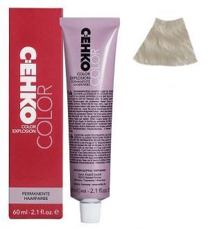 Крем-фарба для волосся C:EHKO Color Explosion №00/0C Супер світлий блонд попелястий 60 мл - 00-00000634