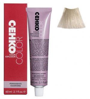 Крем-краска для волос C:EHKO Color Explosion №10/11 Ультра-светлый жемчужный блонд 60 мл - 00-00000660