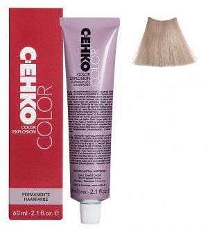 Крем-фарба для волосся C:EHKO Color Explosion №10/20 Ультра-світлий попелястий блонд 60 мл - 00-00000661