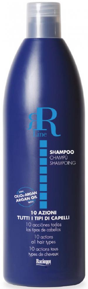 Багатофункційний шампунь для волосся з олією аргани та цитрусовими кислотами RR Line 10 000 мл - 00-00000946