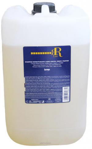 Шампунь для волосся з олією насіння льону RR Line 10000 мл - 00-00000953