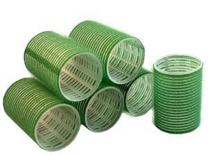 Бигуди на липучке Sibel зеленые 48 мм*6 шт - 00-00001164