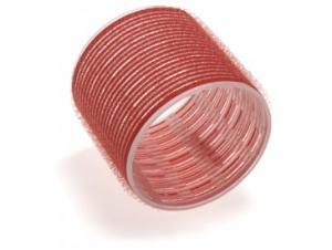 Бигуди на липучке Sibel красные 70 мм*6 шт - 00-00001170