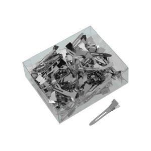 Металевий затискач Sibel маленький 100 шт  - 00-00001216