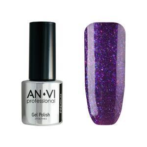 Гель-лак для нігтів ANVI Professional №145 Violet Fireworks 9 мл - 00-00001218