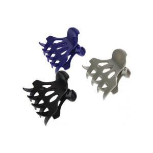 Набір широких кольорових затискачів для волосся Sibel 6 шт - 00-00001226