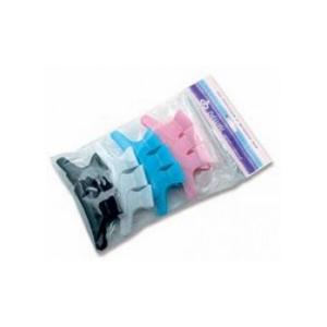 Набір пластикових затискачів для волосся Sibel 12 шт  - 00-00001227