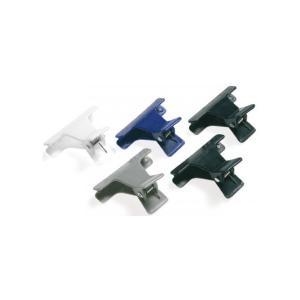 Набір пластикових затискачів для волосся Sibel 4 кольори 12 шт - 00-00001230