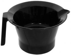 Чаша для краски с ручкой и носиком, черная Sibel - 00-00001349