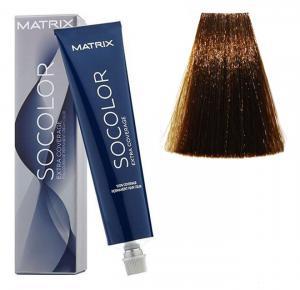 Крем-краска для волос Matrix Socolor Beauty №505G Золотистый светлый шатен 90 мл - 00-00001682