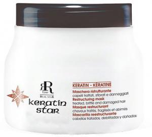 Маска для реконструкции волос RR Line Keratin Star 350 мл - 00-00001688