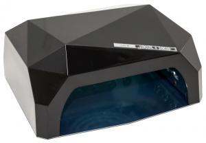 Професійна LED-лампа з сенсором для полімеризації гелю, чорна 36W - 00-00001779