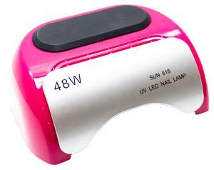 Професійна CCFL LED-лампа для полімеризації гелю, рожева 48W - 00-00001781