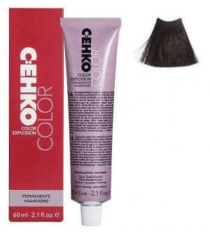 Крем-фарба для волосся C:EHKO Color Explosion №3/0 Темний шатен 60 мл - 00-00001970