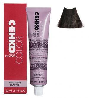 Крем-фарба для волосся C:EHKO Color Explosion №3/00 Попелястий темний шатен 60 мл - 00-00001971