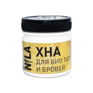 Хна для покраски бровей и био-тату NILA Чорная 100 г - 00-00002112
