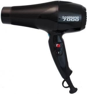 Фен для волосся Gamma Piu 7000 чорний  - 00-00002243