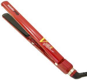 Щипцы BaByliss с терморегулятором и нанотитановыми пластинами, красные - 00-00002323