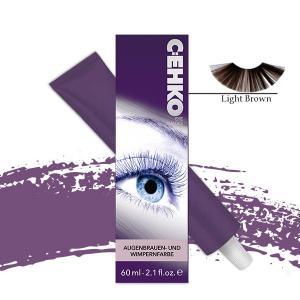 Фарба для брів та вій C:EHKO №03 Світло-коричнева 60 мл - 00-00002651